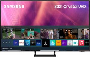 """Телевизор Samsung UE55AU9000UXRU 55"""" (138 см) черный"""