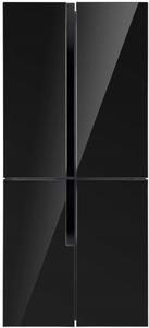 Холодильник MAUNFELD MFF182NFB черный