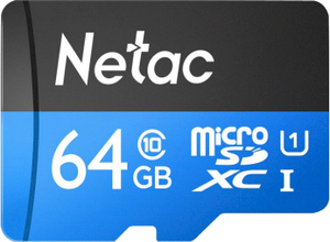 Карта памяти Netac [NT02P500STN-064G-S] 64 Гб