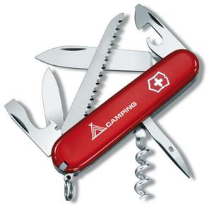Нож перочинный Victorinox Camper (1.3613) 91мм 13функц. красный карт.коробка