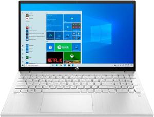 Ноутбук-трансформер HP Pavilion x360 15-er0003ur (3B2W2EA) серебристый