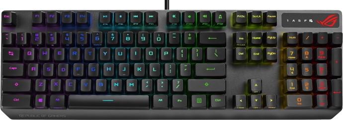 Клавиатура проводная Asus ROG Strix Scope RX черный