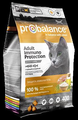 """Сухой корм для кошек ProBalance """"Immuno Protection"""" с курицей и индейкой 16 шт. х 400 г"""