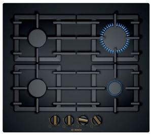 Газовая варочная панель Bosch PPP6B6B90R черный
