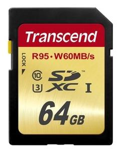 Карта памяти Transcend TS64GSDU3 64 Гб