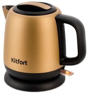 Чайник электрический Kitfort KT-6111 золотой