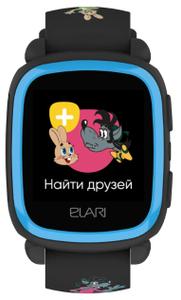 """Детские часы Elari KidPhone """"Ну, погоди!"""" черные, ограниченная гарантия"""