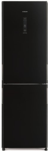 Холодильник Hitachi R-BG 410 PU6X GBK черный