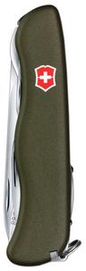 Нож перочинный Victorinox Outrider (0.8513.4R) 111мм 14функций зеленый карт.коробка