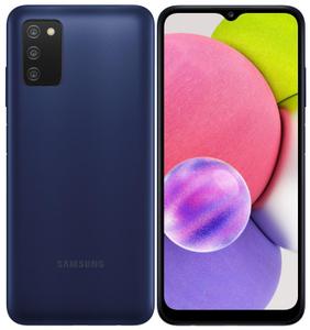 Смартфон Samsung Galaxy A03s 64 Гб синий