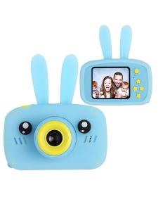 RAFECOFF / Детский цифровой фотоаппарат Зайка Голубой
