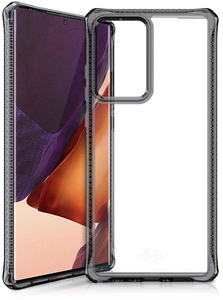 Чехол накладка ITSKINS HYBRID для Samsung Galaxy Note 20 прозрачный