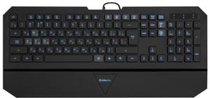Клавиатура проводная Defender Oscar SM-660L Pro черный