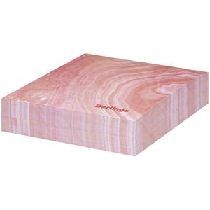 """Блок для записи декоративный на склейке Berlingo """"Fantasy"""" 8,5*8,5*2, розовый, 200л."""