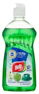 Средство для мытья посуды Яблоко 500мл Help