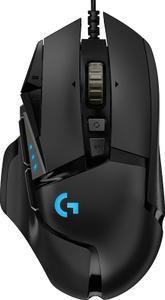 Мышь проводная Logitech G502 HERO черный