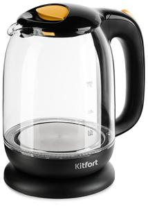Чайник электрический Kitfort КТ-625-4 черный