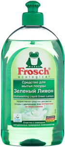 Средство для мытья посуды 500мл Зеленый Лимон Frosch