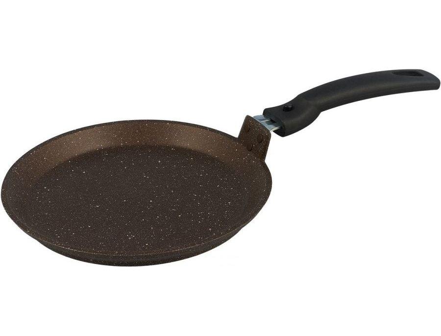 Сковорода-лавашница Кукмара 350мм, АП ( кофейный мрамор )