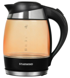 Чайник электрический StarWind SKG2212 оранжевый