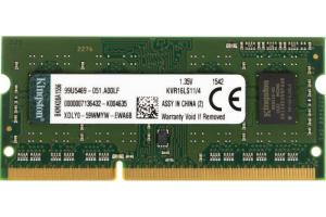 Оперативная память Kingston ValueRAM KVR16LS11 4 Гб DDR3