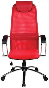 Кресло офисное Метта SU-BK-8 красный