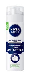 Пена для бритья успокаивающая для чувствительной кожи 200мл Nivea