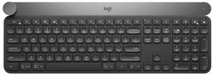 Клавиатура беспроводная Logitech CRAFT черный
