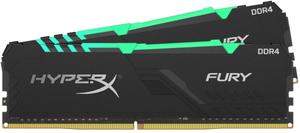 Оперативная память HyperX Fury RGB [HX436C17FB3AK2/16] 16 Гб DDR4