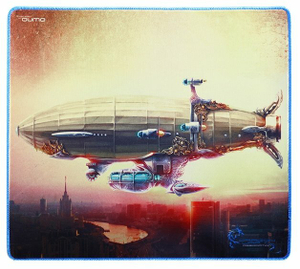 Коврик для мыши Qumo Moscow Zeppelin [20967]