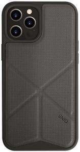 Чехол накладка Uniq для Apple iPhone 12 Pro Max серый