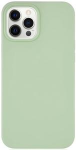 Чехол защитный «vlp» Silicone Сase для iPhone 12 ProMax, светло-зеленый
