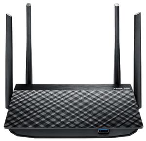 Роутер Wi-Fi ASUS RT-AC58U Dual-band Gigabit Router (RTL) (4UTP 10 / 100 / 1000Mbps, 1WAN, 802.11a / b / g / n / ac, USB3.0