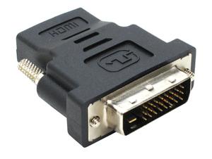 Переходник HDMI 19F -> DVI-D 25M