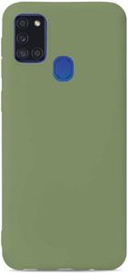Клип-кейс Gresso коллекция Меридиан (для Samsung Galaxy A21S (2020) ментол