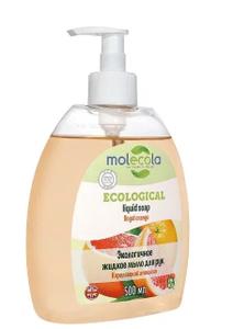 Жидкое мыло Королевский Апельсин 500мл MOLECOLA