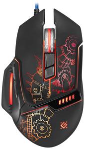 Мышь проводная Defender Kill'em All GM-480L черный