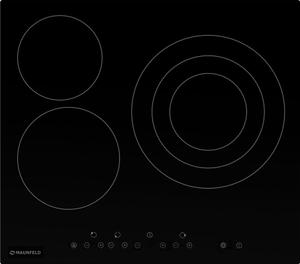 Электрическая варочная поверхность MAUNFELD EVCE.593.T-BK черный