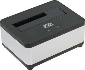"AgeStar <3UBT7-Silver> SATA Docking Station (для  подключения  3.5""/2.5""SATA  HDD, USB3.0)"