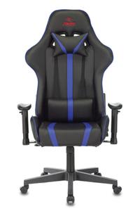Кресло игровое Бюрократ VIKING ZOMBIE A4 синий