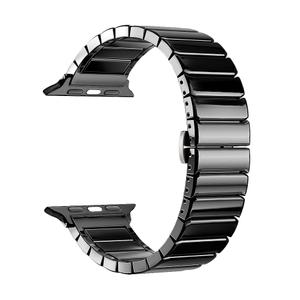 Ремешок Deppa Band Ceramic для Apple Watch 38/40mm (Black)