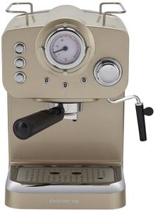 Кофеварка рожковая Polaris PCM1532E бежевый