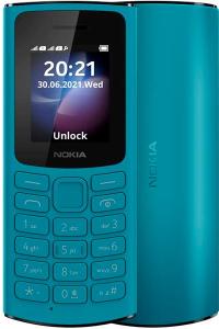 Сотовый телефон Nokia 105 4G DS синий