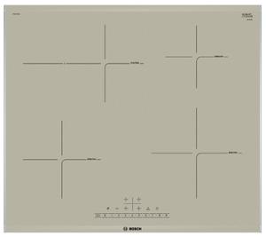 Индукционная варочная поверхность Bosch PIF673FB1E бежевый