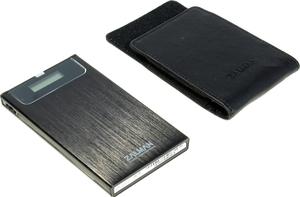 "Zalman < ZM-VE350 Black > (EXT BOX для внешнего подключения 2.5""SATA HDD, USB3.0, Al, эмулятор CD / DVD / Blu-ray)"