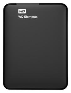 """Жесткий диск WD Original USB 3.0 1Tb WDBUZG0010BBK-WESN Elements Portable 2.5"""" черный"""