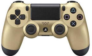 PS4 Dualshock Controller Blister, Gold