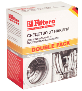 Filtero Ср-во от накипи СМ и ПММ, Double Pack, Арт.611