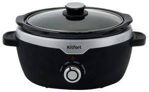 Медленноварка Kitfort KT-216 черный