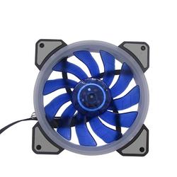 Вентилятор для корпуса 120х120х25mm LED BLUE Molex (oem)